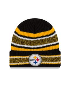 Pittsburgh Steelers New Era Vintage Stripe Knit Hat
