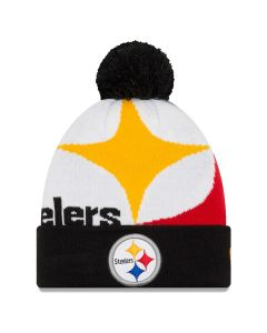 Pittsburgh Steelers New Era Youth Whiz 3 Knit Hat