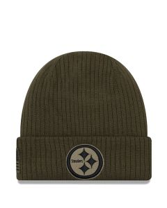 Pittsburgh Steelers New Era Youth Sideline Salute to Service Knit Hat