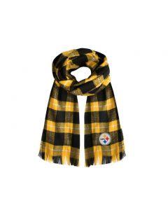 Pittsburgh Steelers Plaid Blanket Scarf
