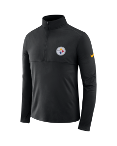 Pittsburgh Steelers Men's Nike Long Sleeve Element Core 1/2 Zip Top
