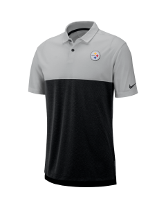 Pittsburgh Steelers Men's Nike Grey Breathe Polo 2