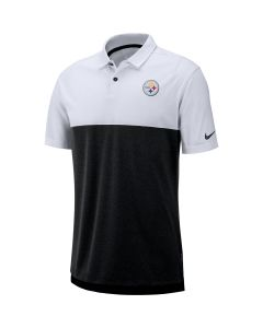 Pittsburgh Steelers Men's Nike White Breathe Polo 2