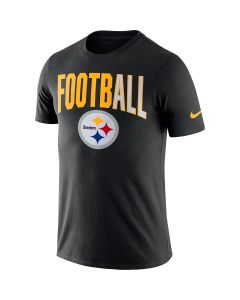 Pittsburgh Steelers Men's Nike Short Sleeve FootbALL Black T-Shirt