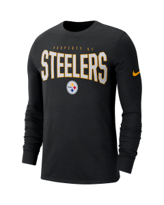 Pittsburgh Steelers Men's Nike Long Sleeve Property Of Black T-Shirt