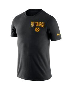Pittsburgh Steelers Men's Nike Short Sleeve 2019 Facility Black T-Shirt