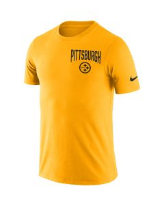 Pittsburgh Steelers Men's Nike Short Sleeve 2019 Facility Gold T-Shirt