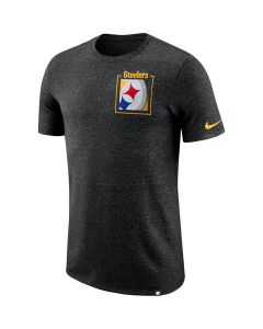 Pittsburgh Steelers Nike Short Sleeve Marled Stadium T-Shirt