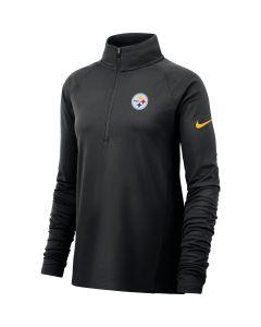 Pittsburgh Steelers Women's Long Sleeve 1/2 Zip Core Top