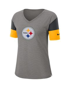 Pittsburgh Steelers Women's Nike Short Sleeve Breathe Tee