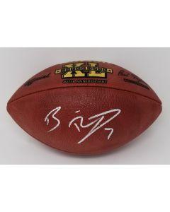 Pittsburgh Steelers #7 Ben Roethlisberger Autographed SBXL NFL 'The Duke' Football