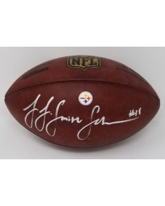 Pittsburgh Steelers #19 JuJu Smith-Schuster Autographed Practice-Used Football
