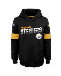Pittsburgh Steelers Nike Little Boys' Therma Hoodie