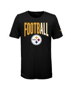 Pittsburgh Steelers Boys' Nike FootbALL Short Sleeve T-Shirt