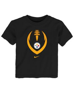 Pittsburgh Steelers Toddler Nike 2019 Modern Icon Short Sleeve T-Shirt