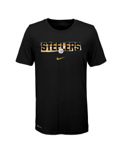 Pittsburgh Steelers Boys' Nike Mezzo Tear Short Sleeve T-Shirt