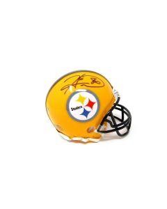 Pittsburgh Steelers #86 Hines Ward Autographed Riddell Mini Throwback Helmet