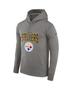 Pittsburgh Steelers Men's Nike Therma Property Of 2019 Grey Hoodie