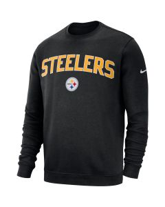 Pittsburgh Steelers Men's Nike Club Fleece Crew