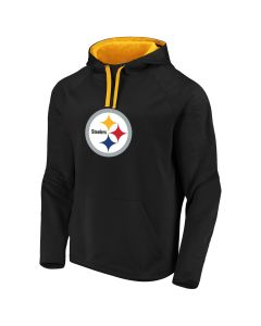 Pittsburgh Steelers Defendee Primary Pullover Fleece Hoodie