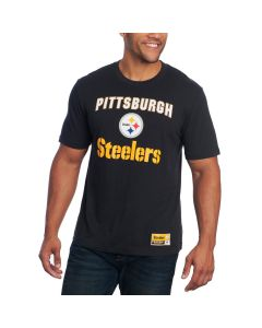 Pittsburgh Steelers Majestic Line of Scrimmage Short Sleeve T-Shirt