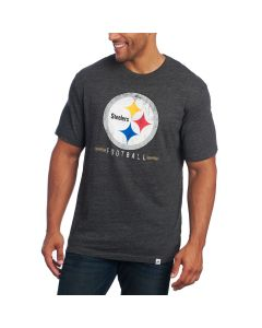 Pittsburgh Steelers Majestic Hyper Stack Short Sleeve T-Shirt