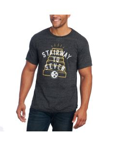 Pittsburgh Steelers Stairway to Seven Short Sleeve T-Shirt