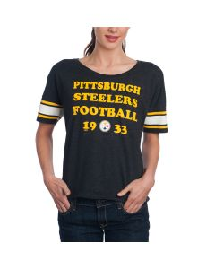 Pittsburgh Steelers '47 Women's Club Coed Short Sleeve T-Shirt