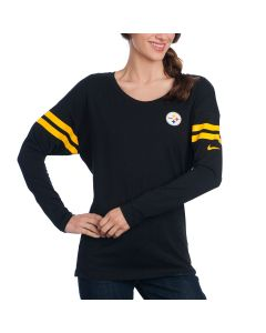 Pittsburgh Steelers Nike Women's Tailgate Top