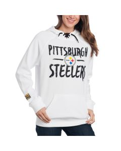 Pittsburgh Steelers Icer Women's Tie Neck Hoodie