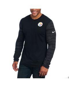 Pittsburgh Steelers Nike Enzyme Pattern Long Sleeve T-Shirt