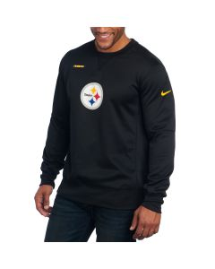 Pittsburgh Steelers Nike Therma Crew Top Long Sleeve