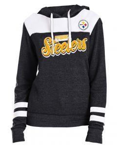 Pittsburgh Steelers Women's Triblend Fleece Pullover Hoodie