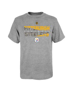 Pittsburgh Steelers Boys' Variable Mix Short Sleeve T-Shirt