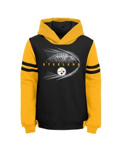 Pittsburgh Steelers Little Boys' Jet Stream Pullover Hoodie