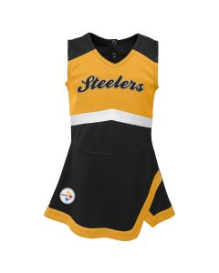 Pittsburgh Steelers Toddler Girls' Cheer Captain Jumper
