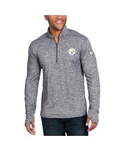 Pittsburgh Steelers Nike Element 1/2 Zip Long Sleeve Top