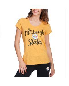Pittsburgh Steelers '47 Women's Crosstown Short Sleeve T-Shirt