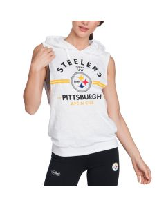Pittsburgh Steelers Women's Sleeveless Hoodie