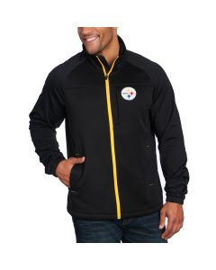 Pittsburgh Steelers GIII Strength Full Zip Jacket
