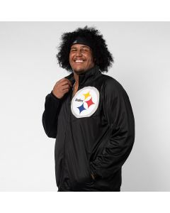 Pittsburgh Steelers Men's Synergy Track Jacket - Extended Sizing