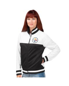 Pittsburgh Steelers Women's Face Off Track Jacket