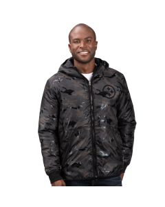 Pittsburgh Steelers Wind Chill Polyfill Hooded Heavyweight Jacket