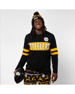 Pittsburgh Steelers Men's Game On Long Sleeve T-Shirt