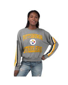 Pittsburgh Steelers Women's Touch Rookie Fleece Crew