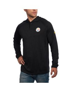 Pittsburgh Steelers Under Armour NFL Combine Long Sleeve Novelty Tech Hoodie