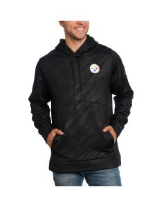 Pittsburgh Steelers Under Armour NFL Combine Fleece Novelty Hoodie Black