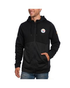 Pittsburgh Steelers Under Armour NFL Combine Fleece Full Zip Hoodie
