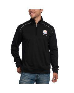 Pittsburgh Steelers Cutter & Buck WeatherTec Ridge 1/2 Zip Top