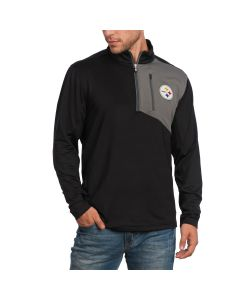 Pittsburgh Steelers Cutter & Buck DryTec Shaw 1/2 Zip Top